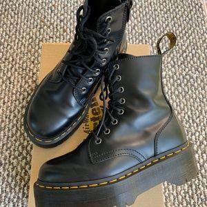 Dr. Martens Jadon Size 6 - Platform Boots - Black